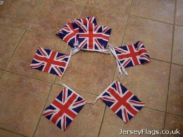 #Union Jack 6m Bunting  (20 Flags)